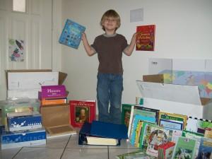 Zander and his books