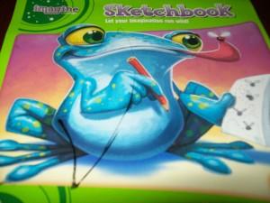 The 1st Sketchbook that I got for Zander